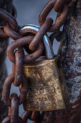 Photograph - Locked Out by Garvin Hunter