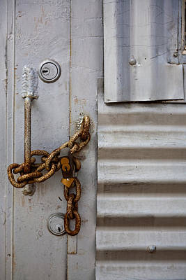 Photograph - Locked by Peter Tellone