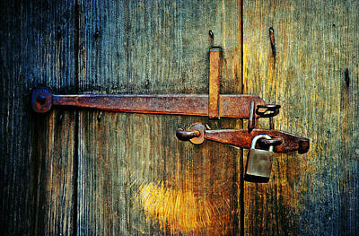 Pub Photograph - Locked by Susan Licht Photography