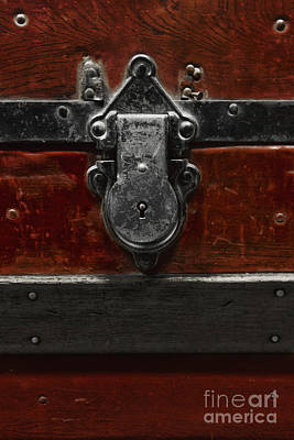 Treasure Box Photograph - Locked Treasure by Margie Hurwich