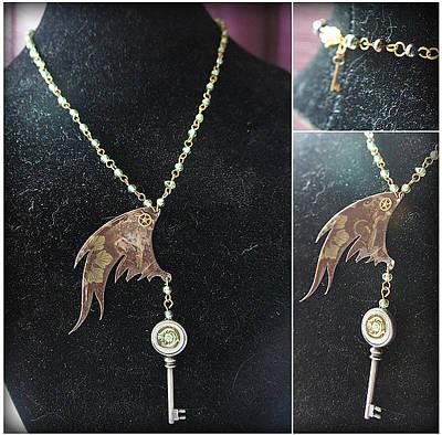 Jewelry - Locked Wings by Jaime Andrews