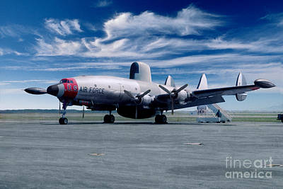 Lockheed Ec-121 Warning Star Early Warning Aircraft Art Print
