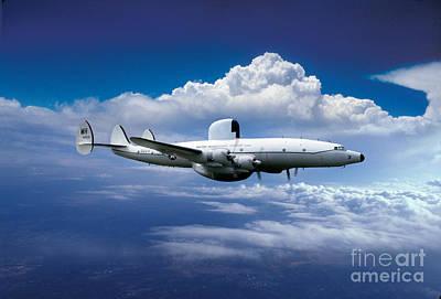 Number 34 Photograph - Lockheed Ec-121k Warning Star by Wernher Krutein