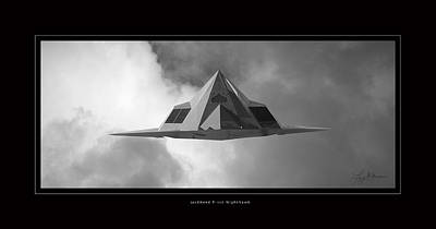 Photograph - Lockheed F-117 Nighthawk by Larry McManus