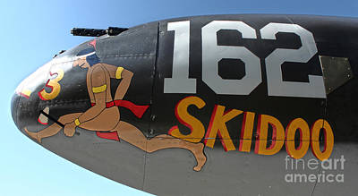 Photograph - Lockheed P-38 - 162 Skidoo - 05 by Gregory Dyer