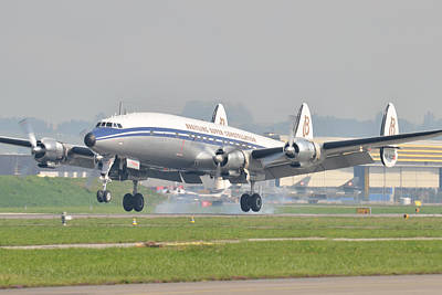 Photograph - Lockheed Super Constellation by Tim Beach