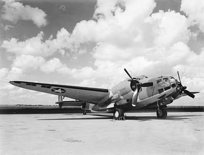 Lockheed Ventura B-34 Art Print by Underwood Archives