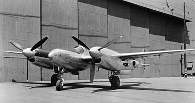 Photograph - Lockheed Xp-49, 1942 by Granger