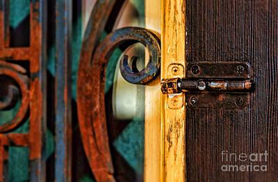 Photograph - Locking You Out By Diana Sainz by Diana Raquel Sainz