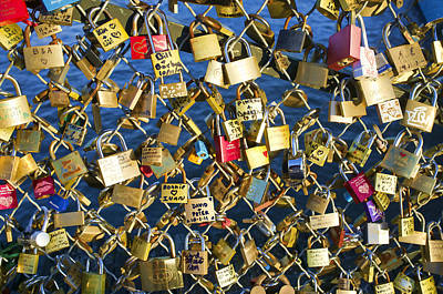 Art Print featuring the photograph Locks Of Love by Hugh Smith