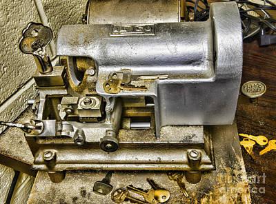 Locksmith - The Key Maker Art Print by Paul Ward