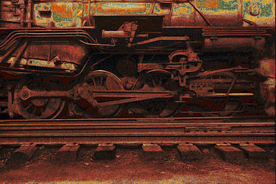 Locomotion 2 Art Print by Jack Zulli