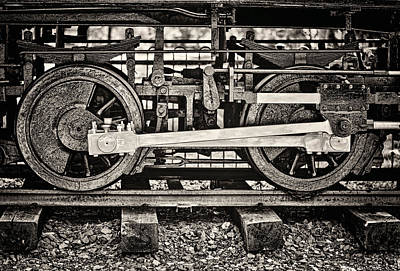 Photograph - Locomotion Bw by Heather Applegate