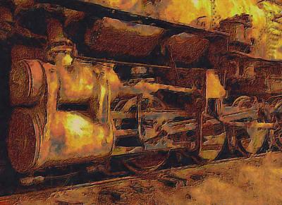 Locomotion Art Print by Jack Zulli