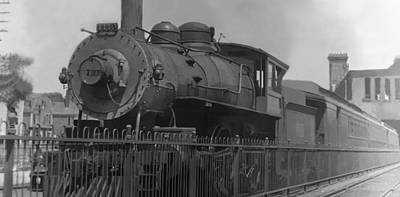 Photograph - Locomotive 1110 by Henri Bersoux