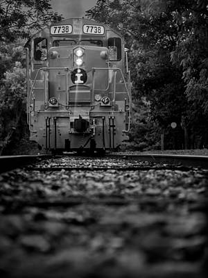 Photograph - Locomotive 7738 by Ted Petrovits III