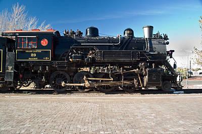 Locomotive Engine 29 Art Print