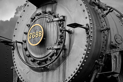 Photograph - Locomotive Engine 7688 by Michael Porchik