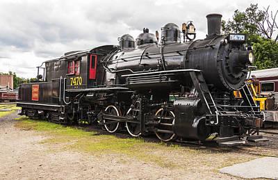 Vintage Conway Photograph - Locomotive by Enrico Della Pietra