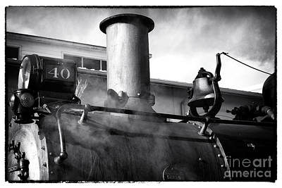 Photograph - Locomotive by John Rizzuto