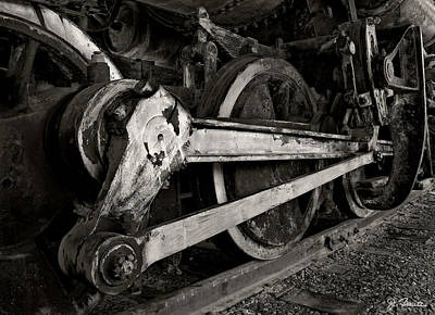 Photograph - Locomotive No. 2 by Joe Bonita