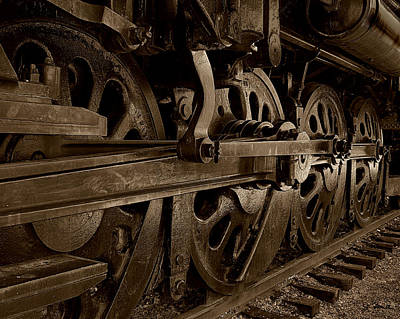 Photograph - Locomotive No. 3 by Joe Bonita