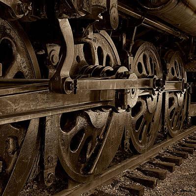 Photograph - Locomotive No. 3a by Joe Bonita