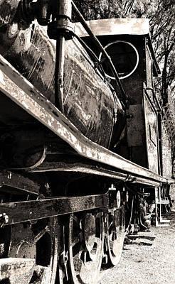 Transporter Digital Art - Locomotive by Phill Petrovic