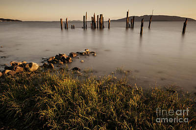 Puget Sound Photograph - Locust Beach Sunset 2 by Paul Conrad