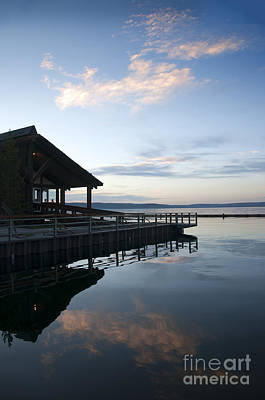 Photograph - Lodge On Yellowstone Lake by Brenda Kean