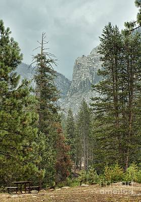 Photograph - Lodgepole Campground by Peggy Hughes