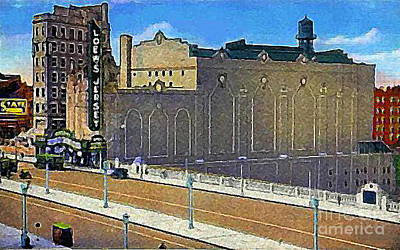 Loew's Jersey Theatre In Jersey City N J Around 1930 Art Print