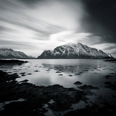 Fjord Photograph - Lofoten Beauty by Dave Bowman