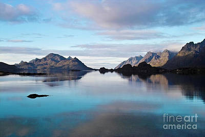 Lofoten Islands Water World Art Print by Heiko Koehrer-Wagner