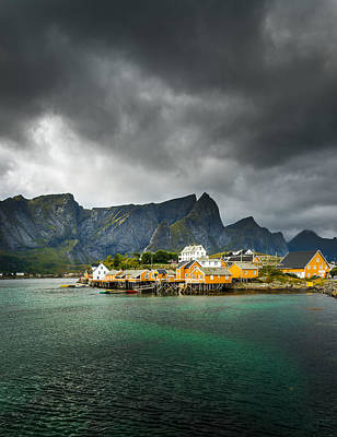 Art Print featuring the photograph Lofoten by Maciej Markiewicz