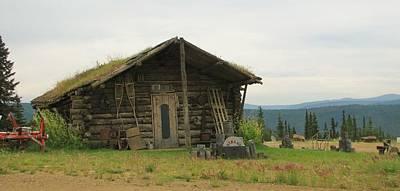 Photograph - Log Cabin Alaska by Lisa Dunn