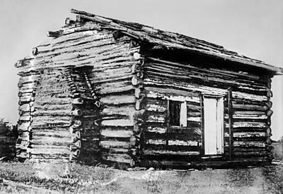 Photograph - Log Cabin by Granger