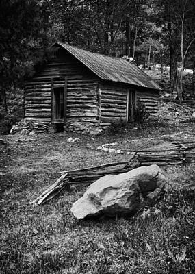 Wall Art - Photograph - Log Cabin II by Daniel Amick