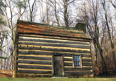 Photograph - Log Cabin by Patricia Januszkiewicz