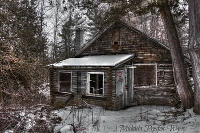 Photograph - Log House 2 by Michaela Preston