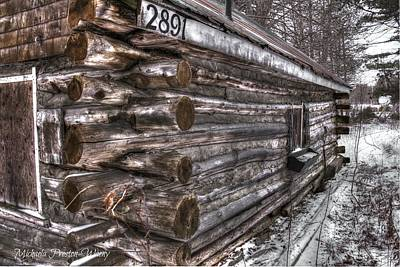 Photograph - Log House 3 by Michaela Preston