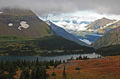 Photograph - Logan Pass Morning View by Kathleen Scanlan