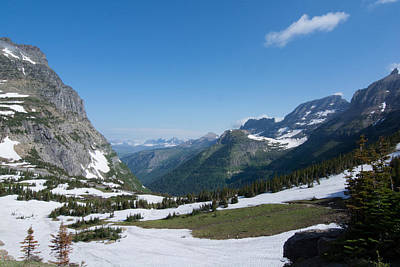 Photograph - Logan Pass Western View 2 by Michael Gooch