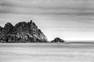 Cornish Wall Art - Photograph - Logan Rock Headland by John Farnan