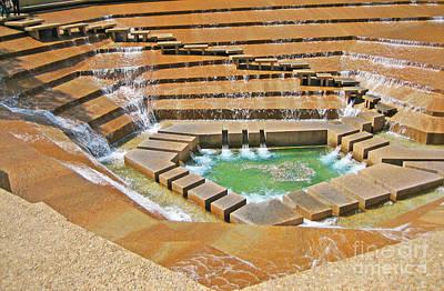 Logans Run Entrance Water Gardens Original by ARTography by Pamela Smale Williams