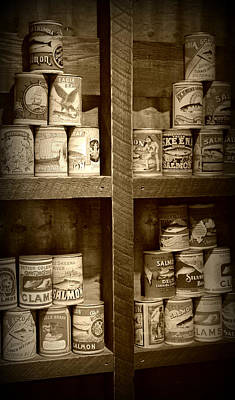 Photograph - Logger's Pantry  by Marilyn Wilson
