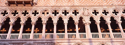 Doges Palace Photograph - Loggia, Doges Palace, Venice, Italy by Panoramic Images