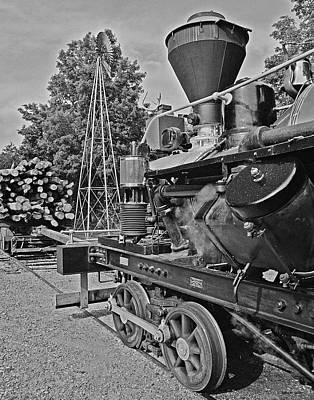 Travel - Logging Train 01 by Jeff Stallard