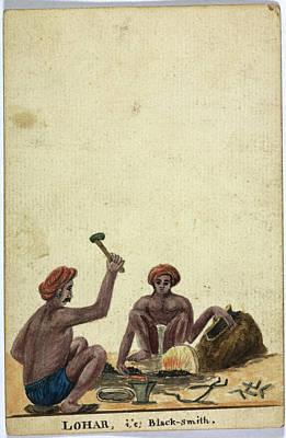 Lohar Art Print by British Library