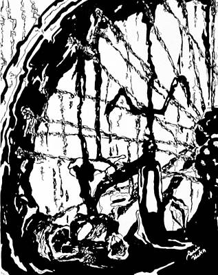 Lointain Print by Hatin Josee